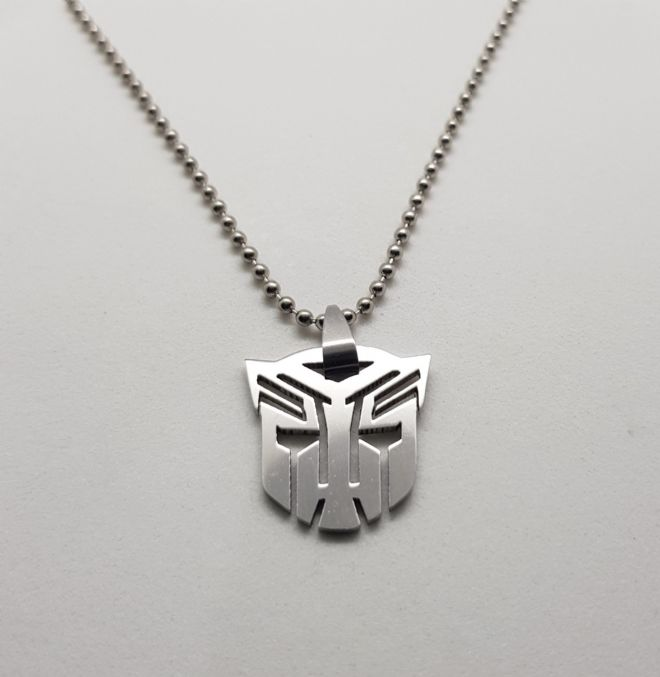 Transformers Auto-bot Stainless Steel Pendant